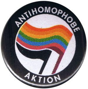 37mm Button: Antihomophobe Aktion