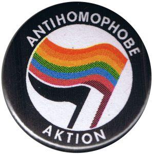 50mm Magnet-Button: Antihomophobe Aktion