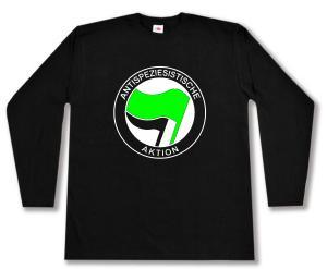 Longsleeve: Antispeziesistische Aktion (grün/schwarz)