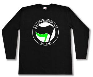 Longsleeve: Antispeziesistische Aktion (schwarz/grün)