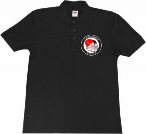 Polo-Shirt: Antivirale Aktion - Mundmasken