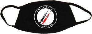 Mundmaske: Antivirale Aktion - Spritzen