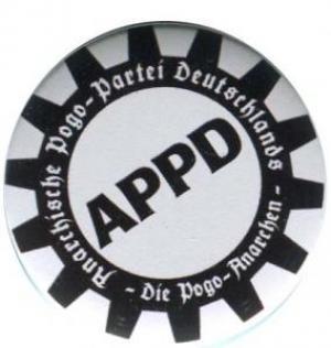 25mm Magnet-Button: APPD - Zahnkranz