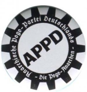 37mm Button: APPD - Zahnkranz