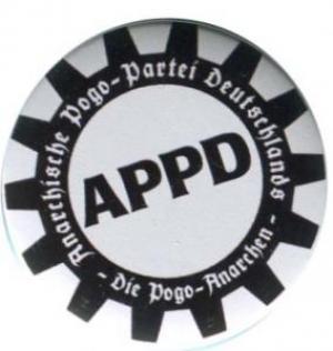 25mm Button: APPD - Zahnkranz