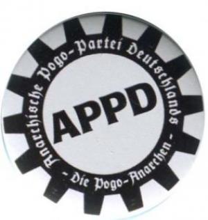 50mm Magnet-Button: APPD - Zahnkranz
