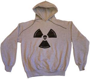 Kapuzen-Pullover: Atomkraft ist immer todsicher