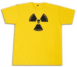 Fairtrade T-Shirt: Atomkraft ist immer todsicher