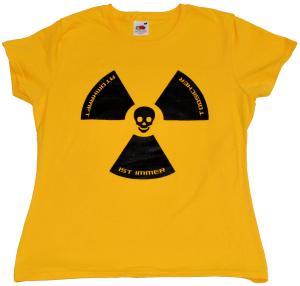 Girlie-Shirt: Atomkraft ist immer todsicher