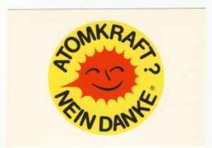 Postkarte: Atomkraft? Nein Danke