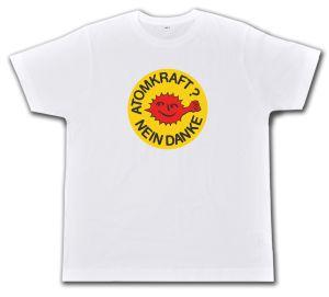 Fairtrade T-Shirt: Atomkraft? Nein Danke - mit Faust