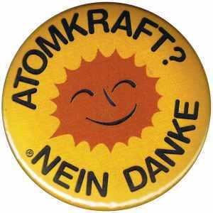 37mm Button: Atomkraft? Nein Danke