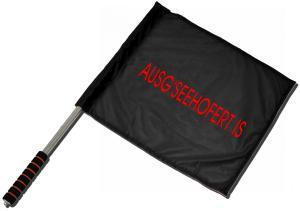Fahne / Flagge (ca. 40x35cm): Ausg'Seehofert is