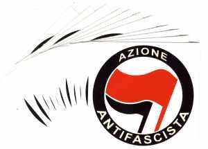 Aufkleber-Paket: Azione Antifascista (italienisch)
