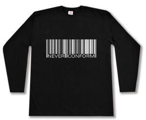 Longsleeve: Barcode - Never conform