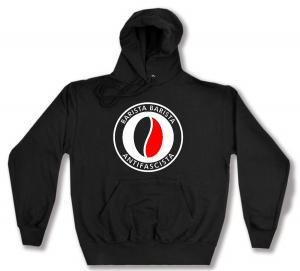 Kapuzen-Pullover: Barista Barista Antifascista (Bohne)