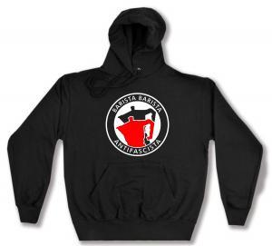 Kapuzen-Pullover: Barista Barista Antifascista (Moka)