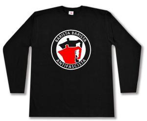 Longsleeve: Barista Barista Antifascista (Moka)