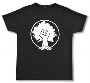 Fairtrade T-Shirt: Baumfaust