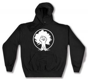 Kapuzen-Pullover: Baumfaust