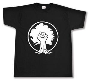T-Shirt: Baumfaust