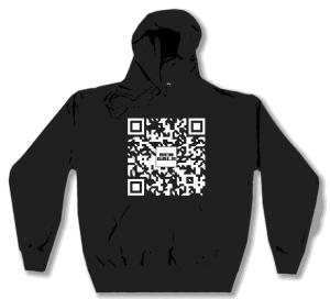 Kapuzen-Pullover: Ben Galo QR Spenden Pullover für Sea-Watch
