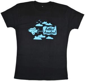 tailliertes T-Shirt: Bildet Banden