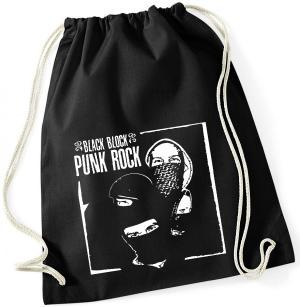 Sportbeutel: Black Block Punk Rock