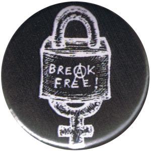 37mm Magnet-Button: Break Free