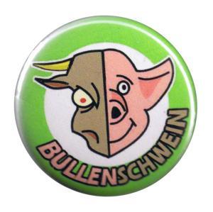 37mm Button: Bullenschwein