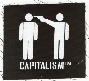 Aufnäher: Capitalism [TM]