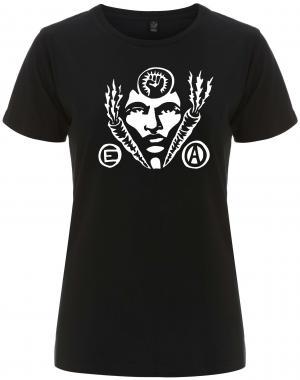 tailliertes Fairtrade T-Shirt: Carrot Power