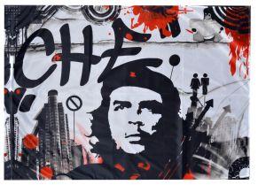 Fahne / Flagge (ca. 150x100cm): Che Guevara