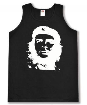 Tanktop: Che Guevara (weiß/schwarz)