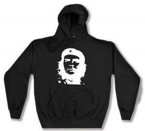 Kapuzen-Pullover: Che Guevara (weiß/schwarz)