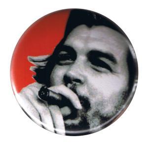 37mm Button: Che Guevara (Zigarre)
