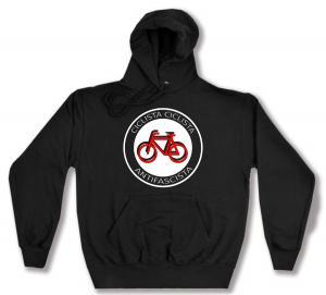 Kapuzen-Pullover: Ciclista Ciclista Antifascista