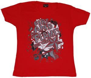 Girlie-Shirt: Comics red