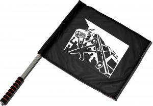 Fahne / Flagge (ca. 40x35cm): Copcar