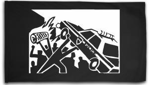 Fahne / Flagge (ca. 150x100cm): Copcar