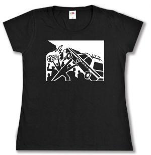 tailliertes T-Shirt: Copcar
