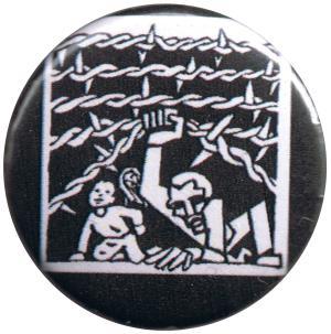 50mm Magnet-Button: Cross Border