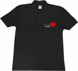Polo-Shirt: Das Herz schlägt links