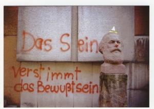 Postkarte: Das Sein verstimmt das Bewußtsein