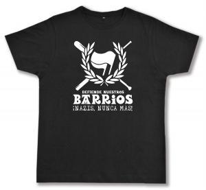 Fairtrade T-Shirt: Defiende nuestros Barrios