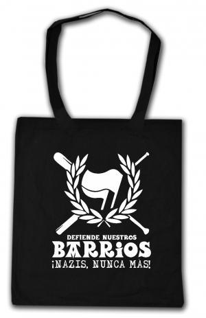 Baumwoll-Tragetasche: Defiende nuestros Barrios