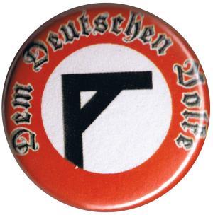 25mm Button: Dem deutschen Volke