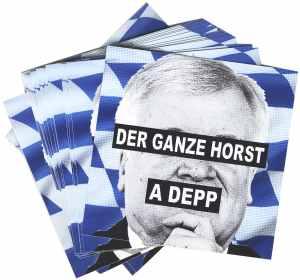 Aufkleber-Paket: Der ganze Horst a Depp