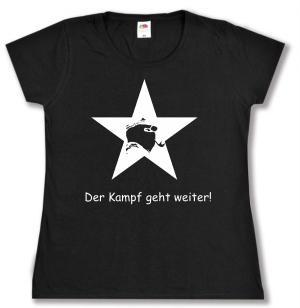tailliertes T-Shirt: Der Kampf geht weiter!