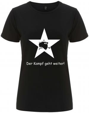 tailliertes Fairtrade T-Shirt: Der Kampf geht weiter!